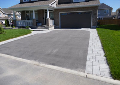 Enhance your driveway with stone walkway