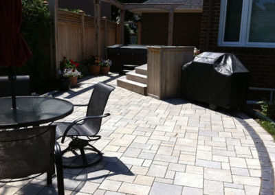 Modern and clean patio