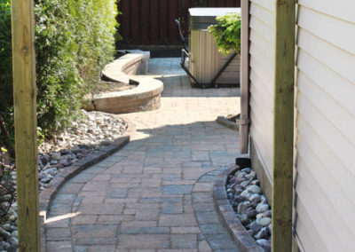 Customized walkway that is durable and beautiful